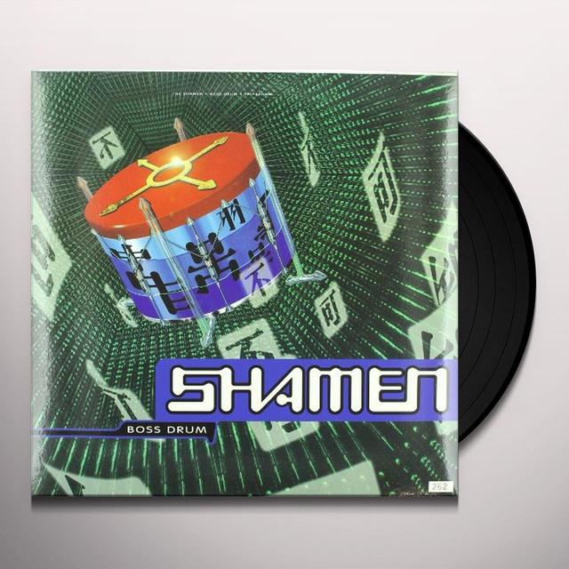 Shamen BOSS DRUM Vinyl Record