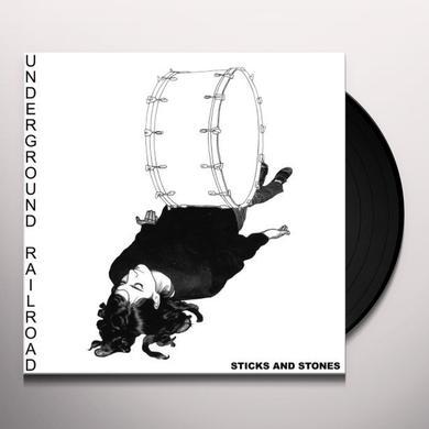 Underground Railroad STICKS & STONES Vinyl Record - Limited Edition