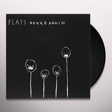 Flats NEVER AGAIN Vinyl Record