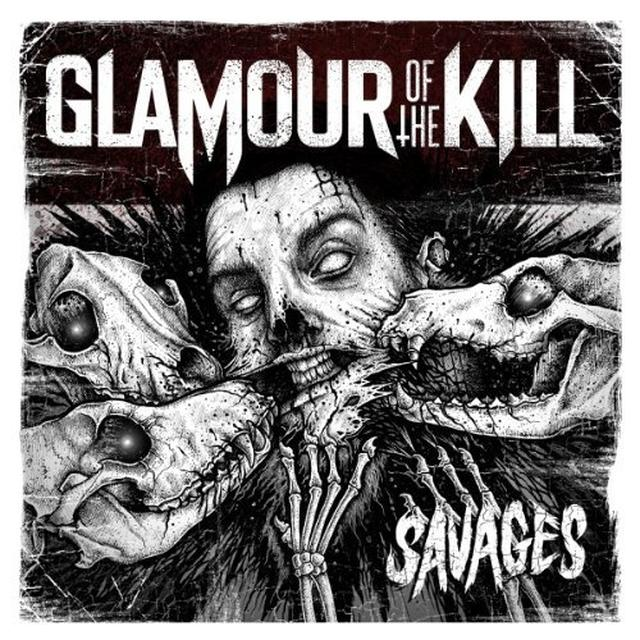 Glamour Of The Kill SAVAGES Vinyl Record - Limited Edition
