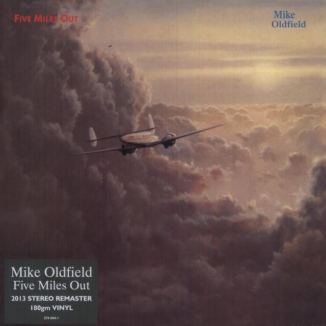 Mike Oldfield FIVE MILES OUT Vinyl Record