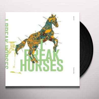 I Break Horses HEARTS Vinyl Record