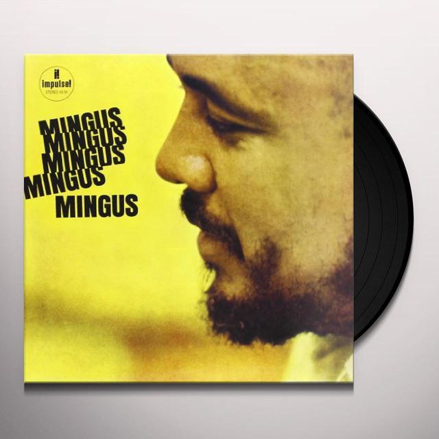 Charles Mingus MINGUS MINGUS MINGUS MINGUS MINGUS Vinyl Record - 180 Gram Pressing