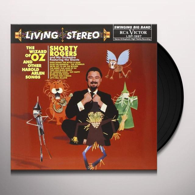 Shorty Rogers & His Orchestra WIZARD OF OZ & OTHER HAROLD ARLEN SONGS Vinyl Record - 180 Gram Pressing