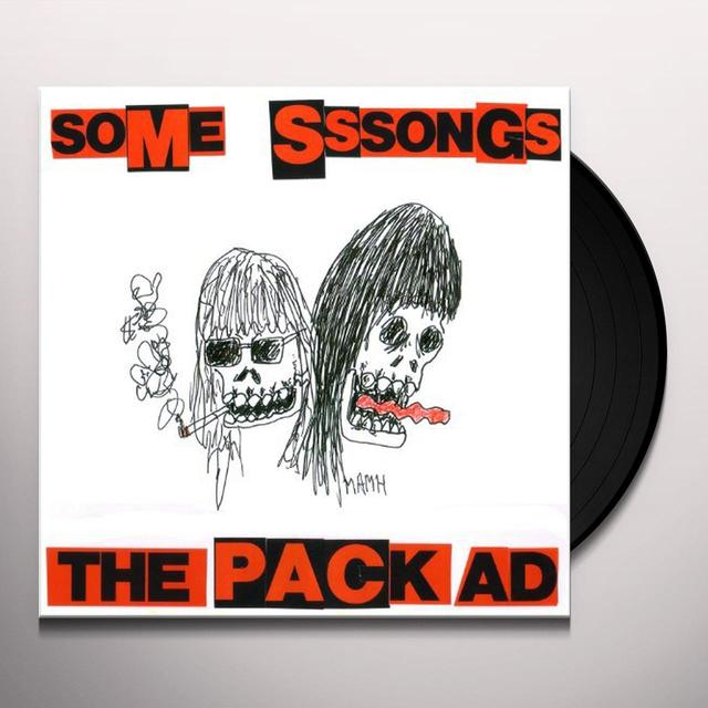 The Pack a.d. SOME SSSONGS Vinyl Record - 10 Inch Single