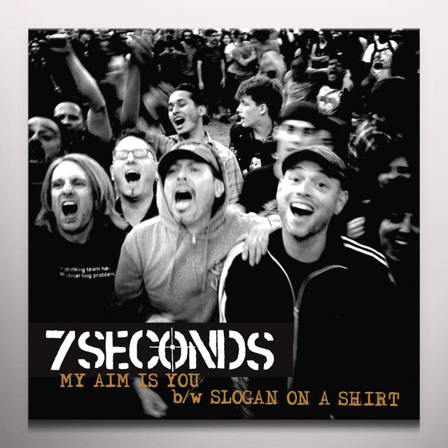 7Seconds MY AIM IS YOU Vinyl Record - Colored Vinyl