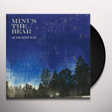 Minus The Bear ACOUSTICS II Vinyl Record