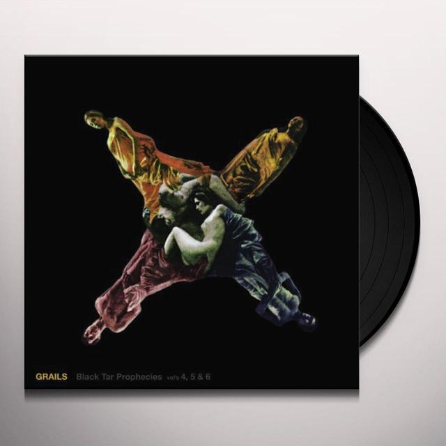 Grails BLACK TAR PROPHECIES 4 5 & 6 Vinyl Record