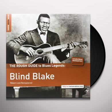 ROUGH GUIDE TO BLIND BLAKE Vinyl Record - 180 Gram Pressing, Digital Download Included