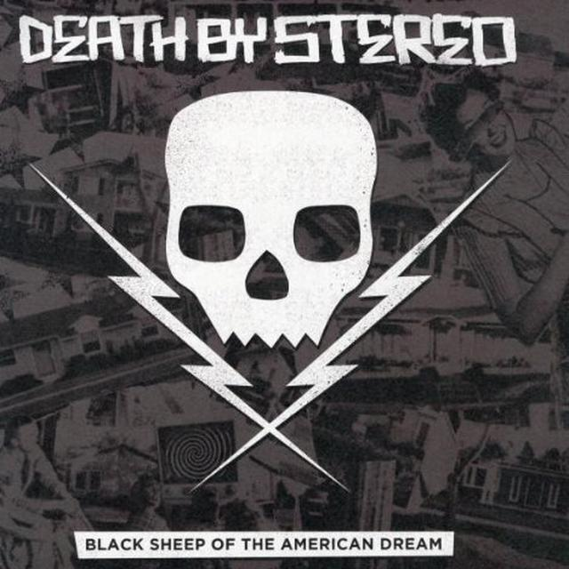 Death By Stereo BLACK SHEEP OF THE AMERICAN DREAM Vinyl Record