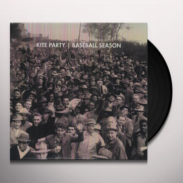 Kite Party BASEBALL SEASON Vinyl Record - Digital Download Included
