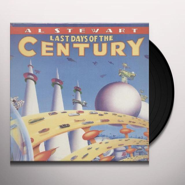 Al Stewart LAST DAYS OF THE CENTURY Vinyl Record