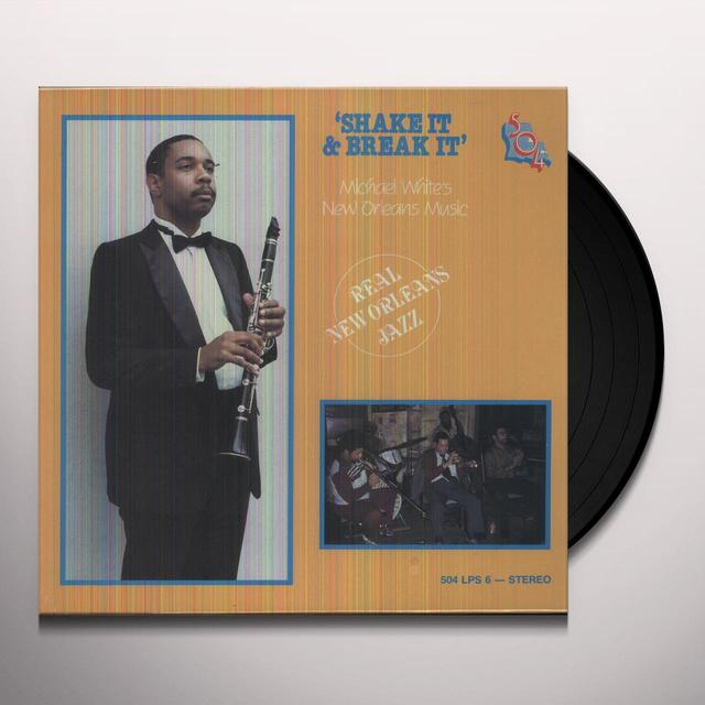 Michael White SHAKE IT & BREAK IT Vinyl Record