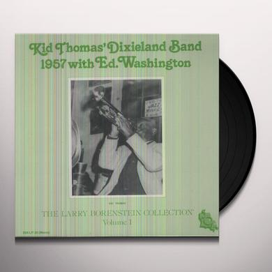 Kid Thomas Dixieland Band 1957 WITH ED WASHINGTON Vinyl Record