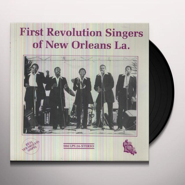First Revolution Singers OF NEW ORLEANS Vinyl Record