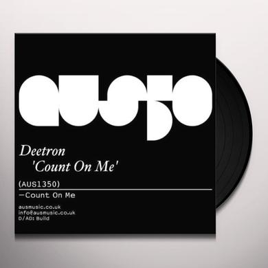 Deetron COUNT ON ME Vinyl Record