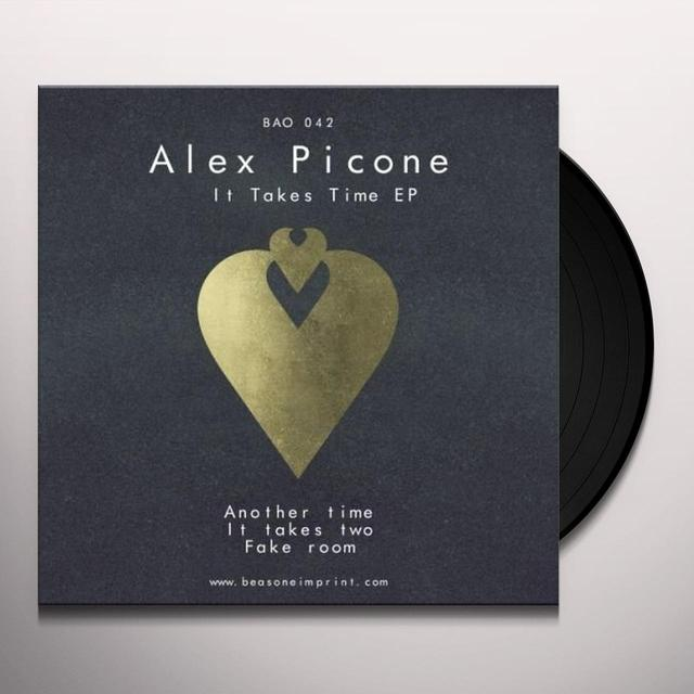 Alex Picone IT TAKES TIME (EP) Vinyl Record
