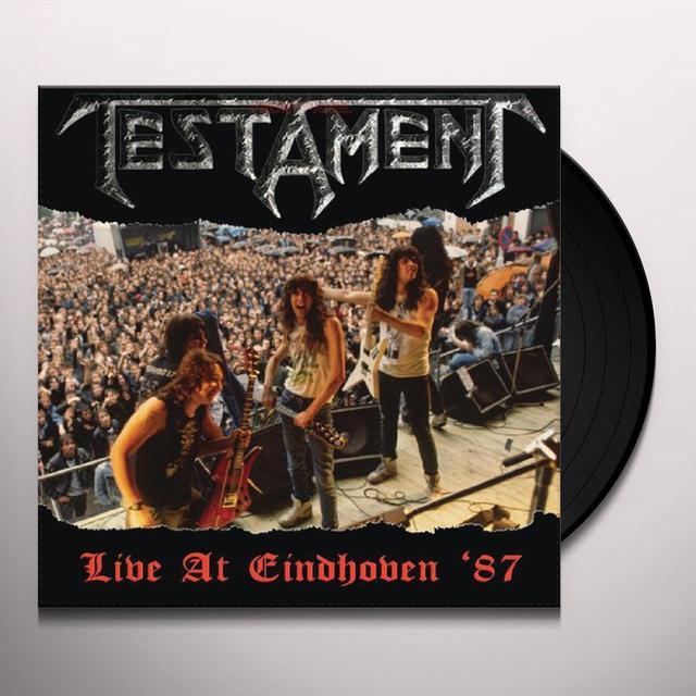 Testament LIVE AT EINDHOVEN '87 Vinyl Record