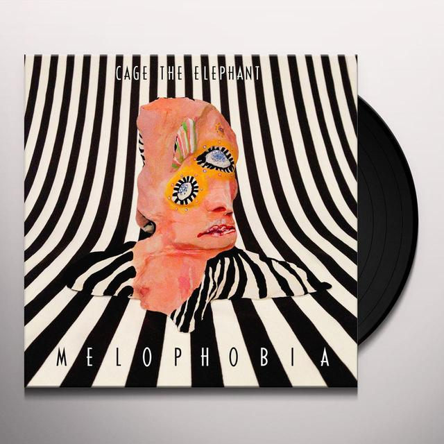 Cage The Elephant MELOPHOBIA Vinyl Record - 180 Gram Pressing, Digital Download Included