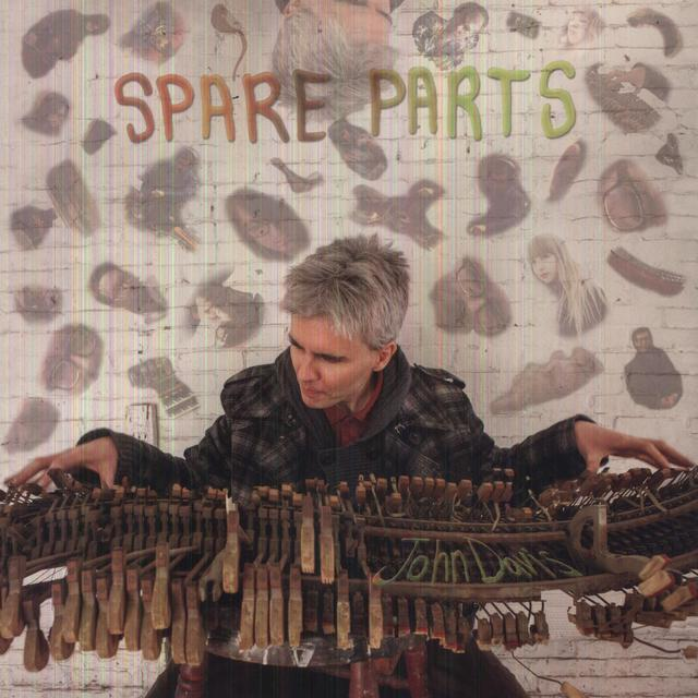 John Davis SPARE PARTS Vinyl Record - Digital Download Included