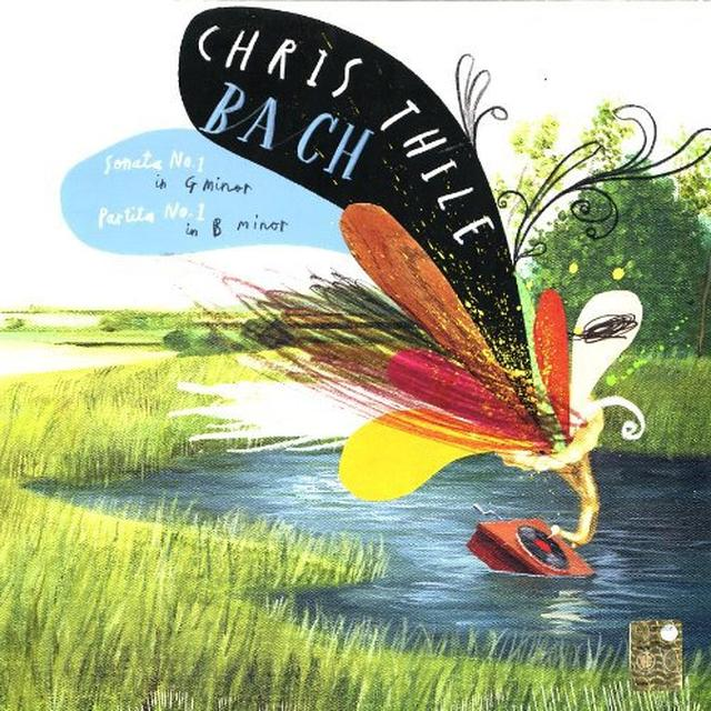 Chris Thile BACH: SONATAS NO 1 IN G MINOR / PARTITA NO 1 IN B Vinyl Record