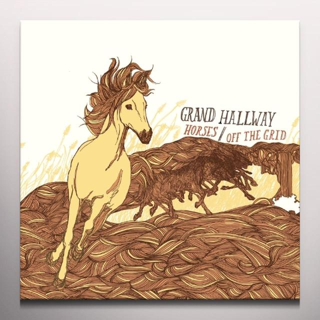 Grand Hallway HORSES B/W OFF THE GRID Vinyl Record