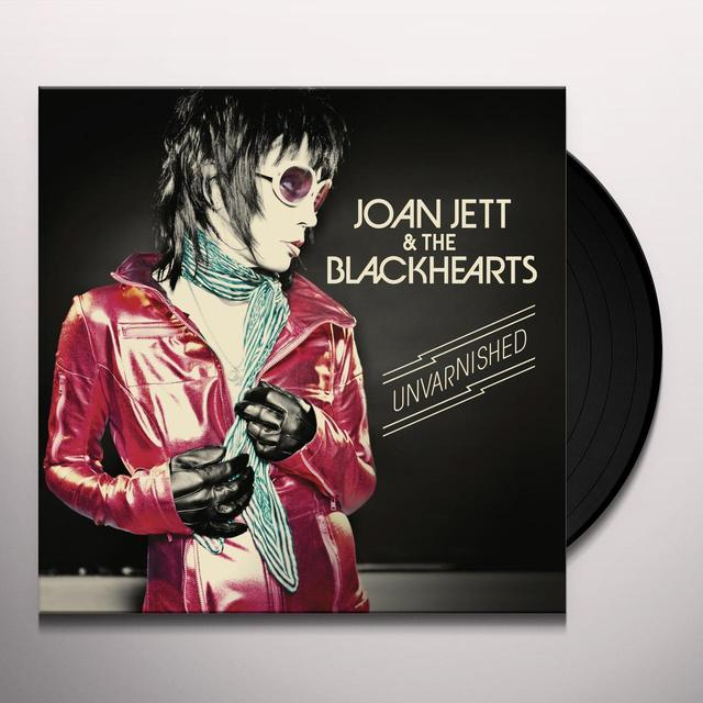 Joan Jett & The Blackhearts UNVARNISHED Vinyl Record