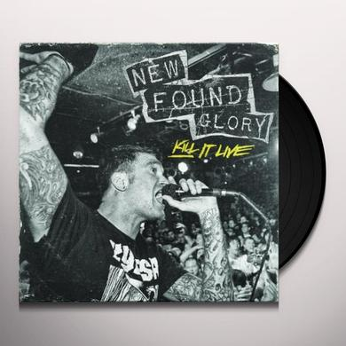 New Found Glory KILL IT LIVE Vinyl Record