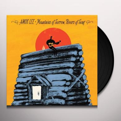 Amos Lee MOUNTAINS OF SORROW RIVERS OF SONG Vinyl Record