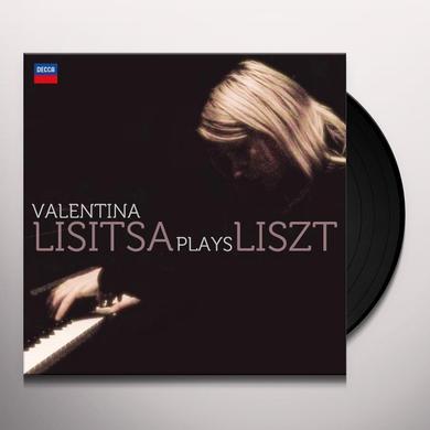 VALENTINA LISITSA PLAYS LISZT Vinyl Record
