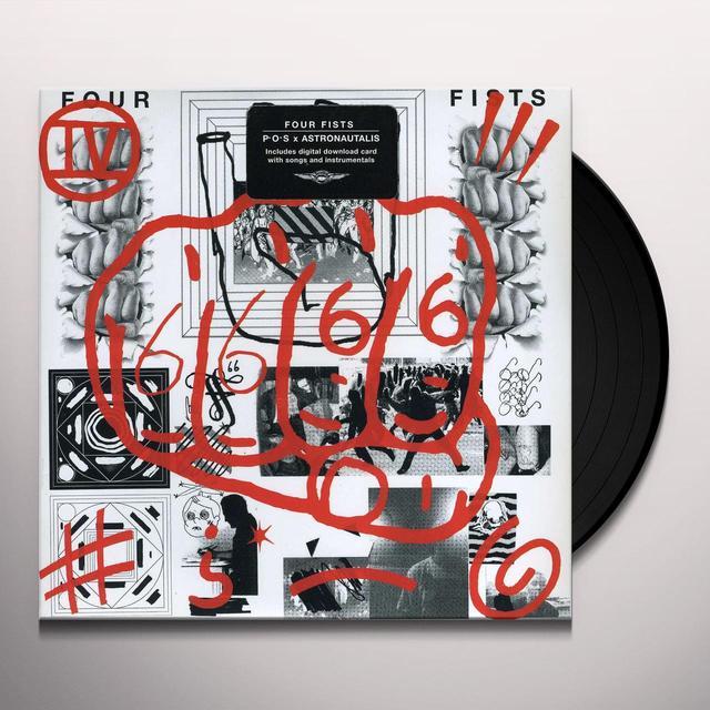 Four Fists MMMMMHMMMMM / PLEASE GO Vinyl Record