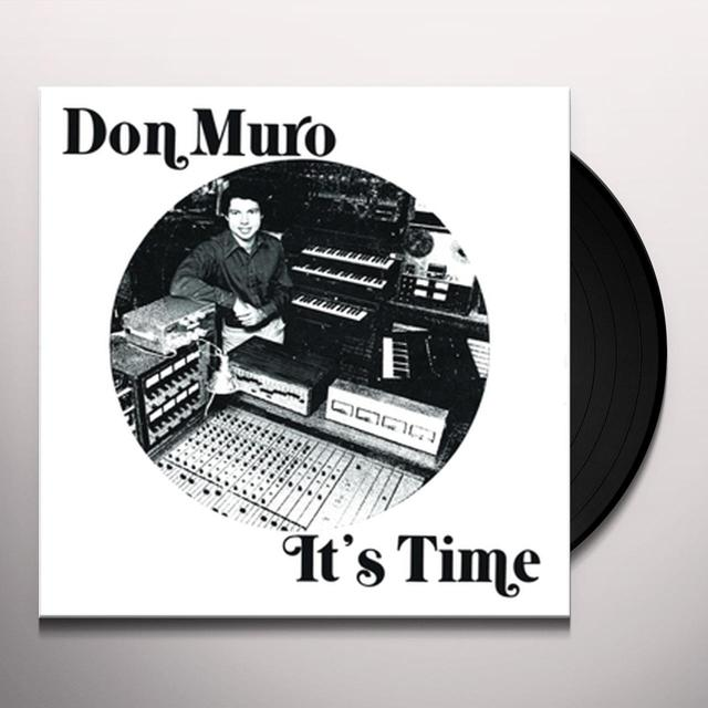 Don Muro IT'S TIME Vinyl Record