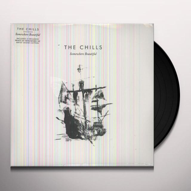 Chills SOMEWHERE BEAUTIFUL Vinyl Record