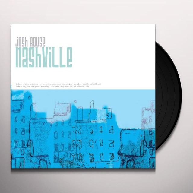 Josh Rouse NASHVILLE Vinyl Record - 180 Gram Pressing, Digital Download Included