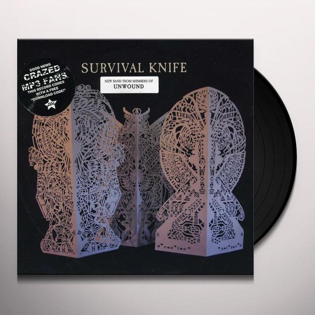 Survival Knife DIVINE MOB B/W SNAKEBIT Vinyl Record