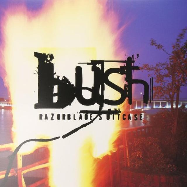 Bush RAZORBLADE SUITCASE Vinyl Record