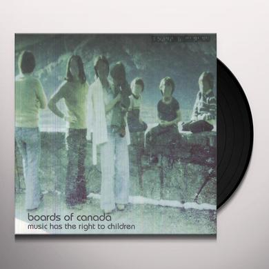 Boards Of Canada MUSIC HAS THE RIGHT TO CHILDREN Vinyl Record - Digital Download Included, Reissue