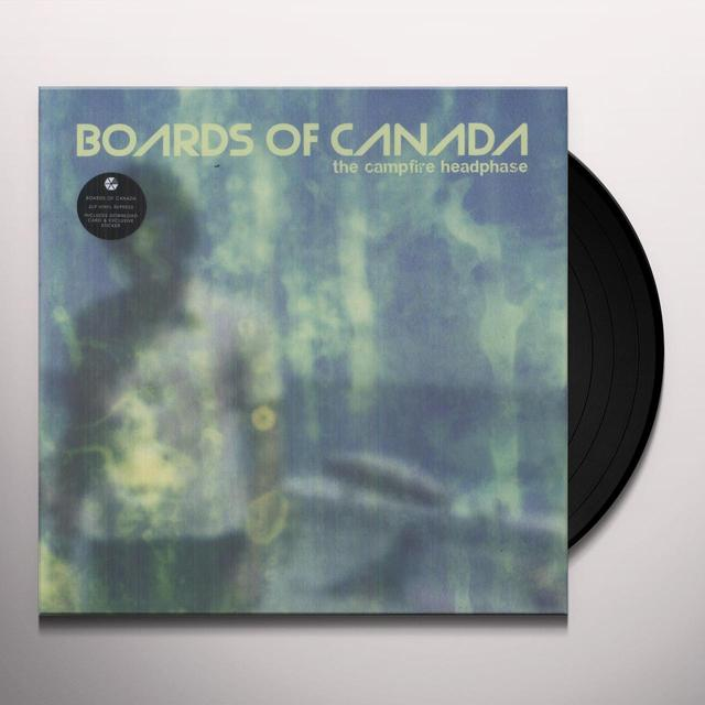 Boards Of Canada CAMPFIRE HEADPHASE Vinyl Record - Digital Download Included, Reissue