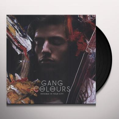 Gang Colours INVISIBLE IN YOUR CITY Vinyl Record