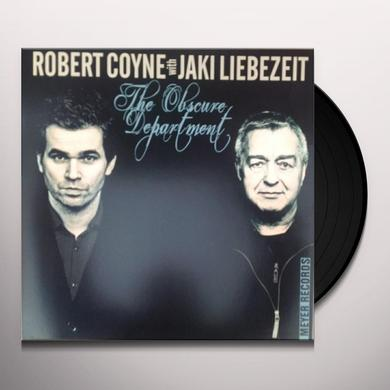 Robert Coyne OBSCURE DEPARTMENT Vinyl Record