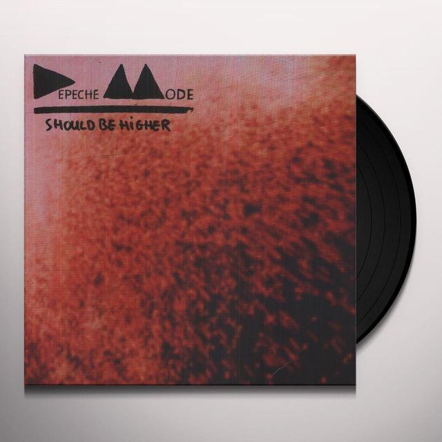 Depeche Mode SHOULD BE HIGHER Vinyl Record