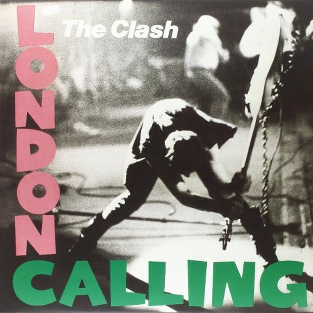 The Clash LONDON CALLING Vinyl Record