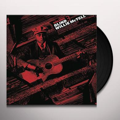 Willie Mctell COMPLETE RECORDED WORKS IN CHRONOLOGICAL ORDER 3 Vinyl Record