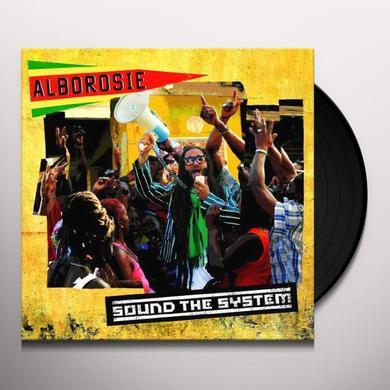 Alborosie SOUND THE SYSTEM Vinyl Record