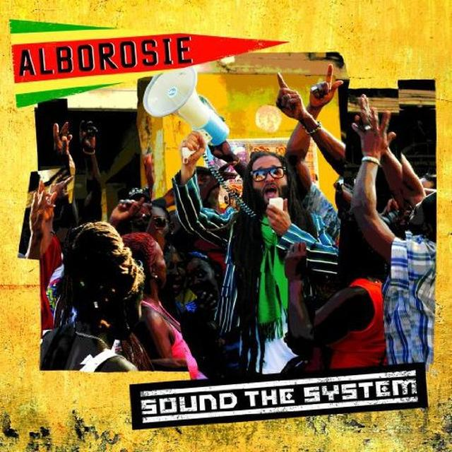 Alborosie SOUND THE SYSTEM Vinyl Record