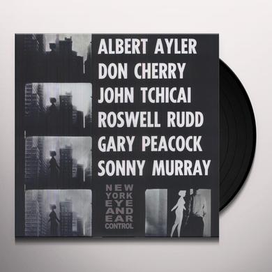 Albert Ayler NEW YORK EYE & EAR CONTROL Vinyl Record