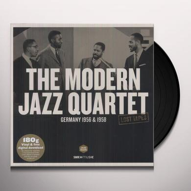 The Modern Jazz Quartet LOST TAPES: GERMANY 1956-1958 Vinyl Record