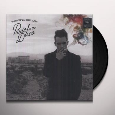 Panic At The Disco TOO WEIRD TO LIVE TOO RARE TO DIE Vinyl Record