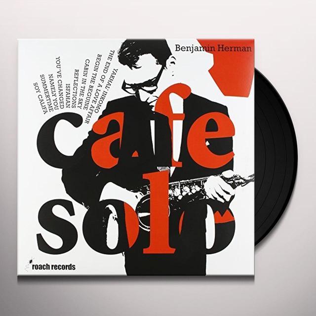 Benjamin Herman CAFE SOLO Vinyl Record