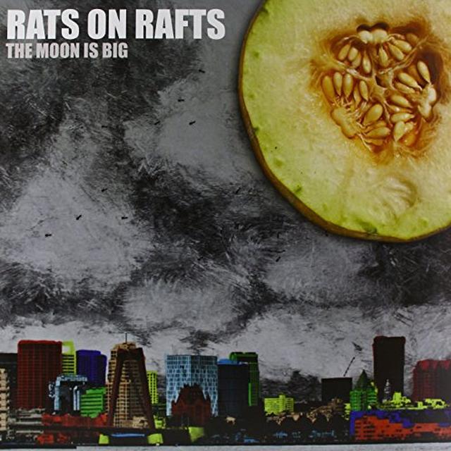 Rats On Rafts MOON IS BIG Vinyl Record